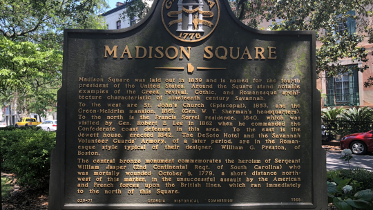 #1 Ghost Tour - Madison Square Marker