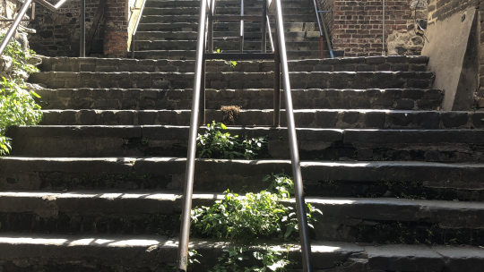#1 Ghost Tour - Stone Stairs of Death