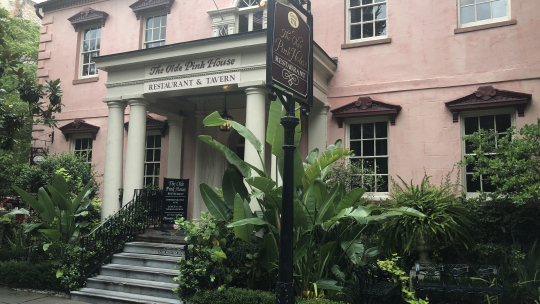 #1 Ghost Tour - Olde Pink House